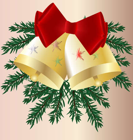 felicitate: Christmas bells Illustration