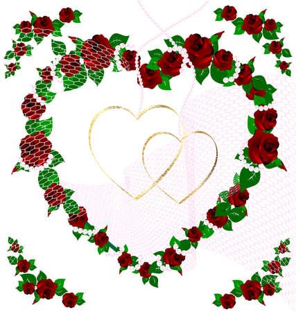 sympathy: background wedding rose