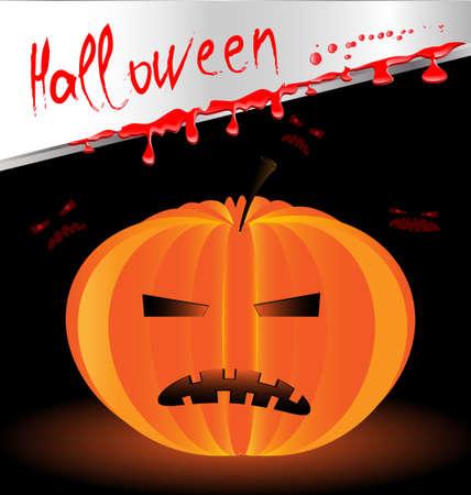 Halloween pumpkin Stock Vector - 10698325