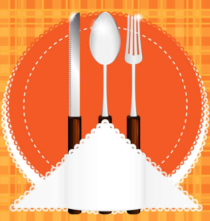 fork and spoon: cutlery
