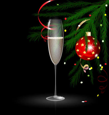 decoraded: Christmas champagne