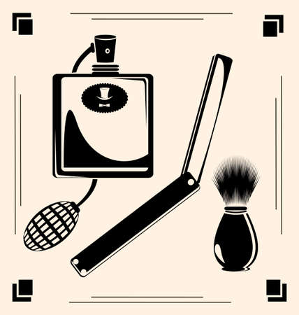 shaver: vintage razors