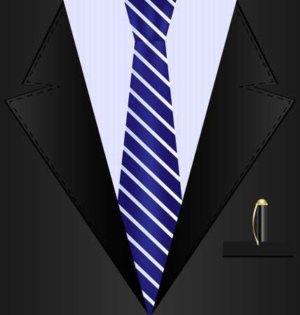 coat and tie: background black suit