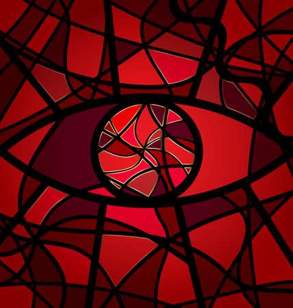 crimson: red background variation Illustration