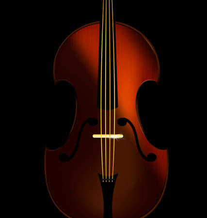 flexure: abstract fiddle Illustration
