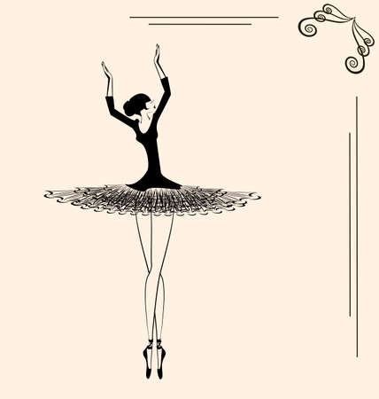 image of a ballerina Çizim