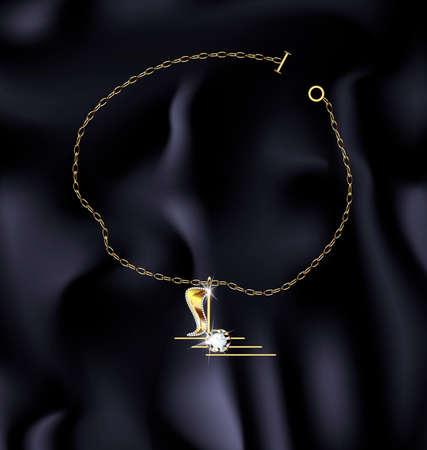 bracelet: bracelet note Illustration