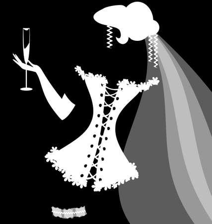 lacing: shadow of a bride