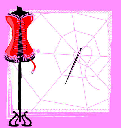 corset, web and craft