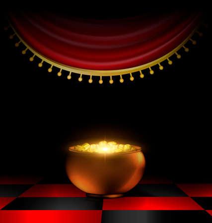 Pot of gold in the dark