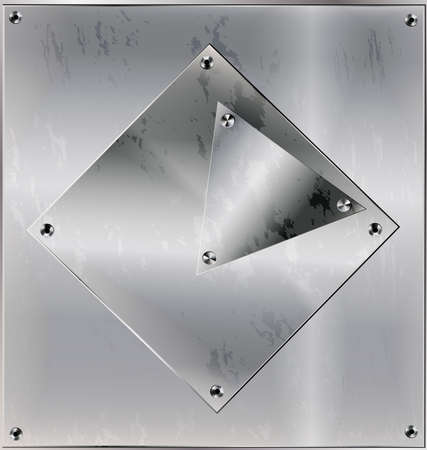gray matter: iron sheet with holes
