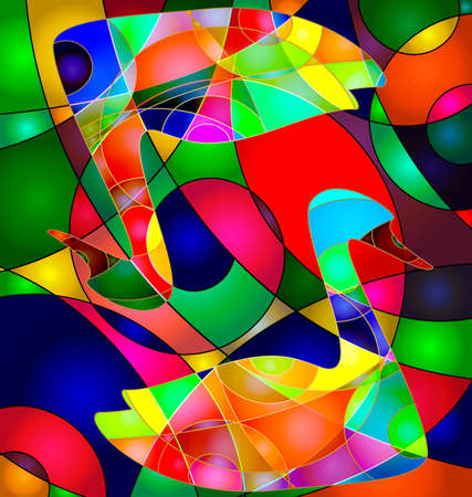 Colorful abstract. Illustration