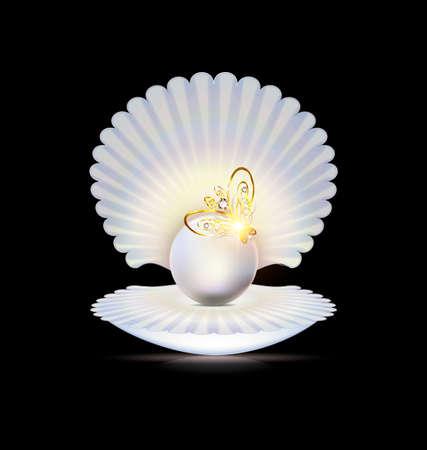 White pearl icon.