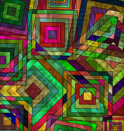 colored background image of the abstract chaos square