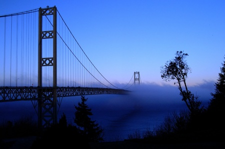 Tacoma Narrows Bridge Stock Photo - 16079185