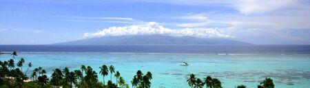 Tahiti from Moorea Stock Photo - 16514612