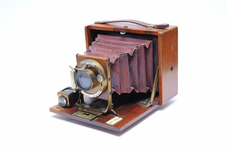 unusually: Antique Camera Stock Photo