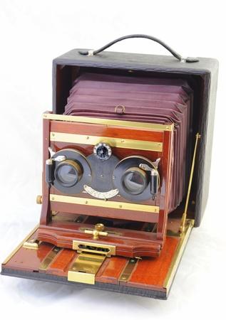 Antique stereo camera photo