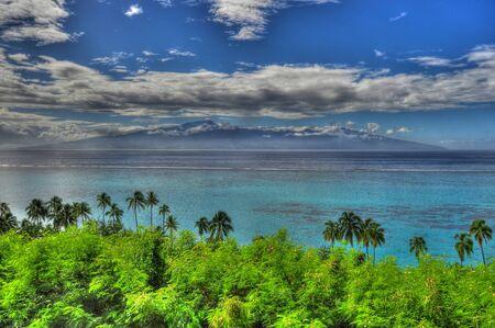 moorea: Tahiti from Moorea