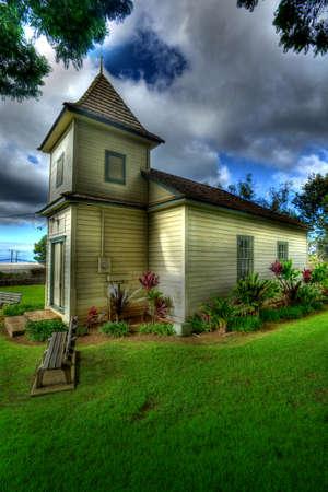 lds: LDS Church Kula Stock Photo