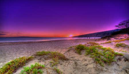 Sunset Maui Reklamní fotografie