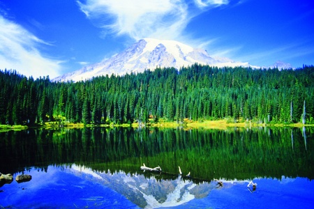 mount rainier: Reflection Lake Mount Rainier Wa