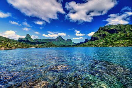 moorea: Cooks Bay , Moorea,Tahiti Stock Photo
