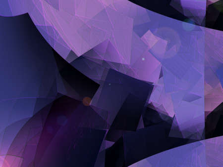 cubism: Modern purple abstract background - cubism