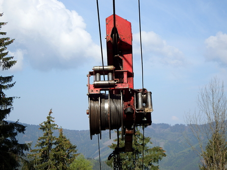 winch: forest cableways, forestry winch cable car