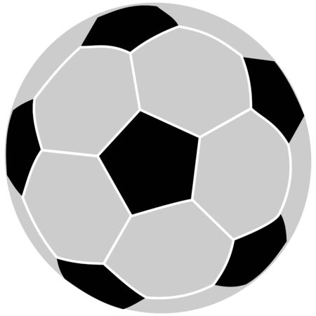bounce: soccer ball  black and white,