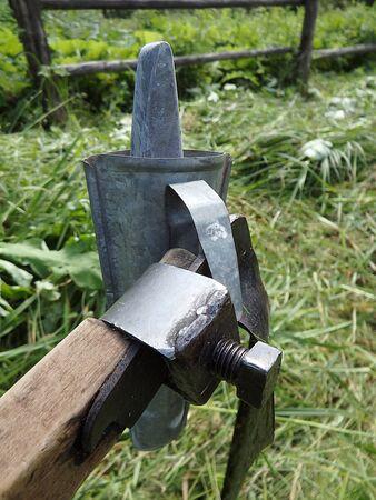 agricultural tools: Agricultural Hand Tool, scythe ,scythe old farm tools,