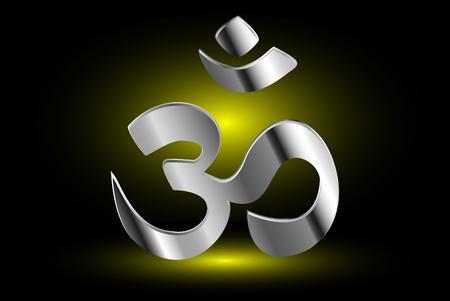 hinduismo: símbolo del hinduismo, símbolo de OM del hinduismo,
