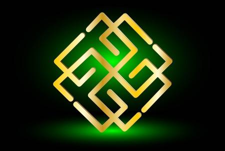Symbol of the sun ,Slavic symbol of the sun ,