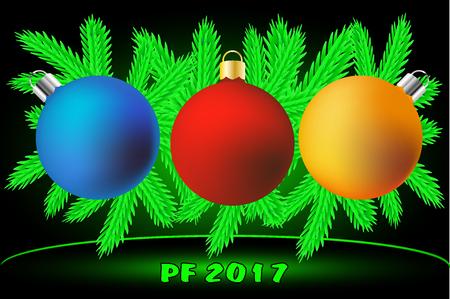 pf: Christmas decorations , Merry Christmas! PF 2017,