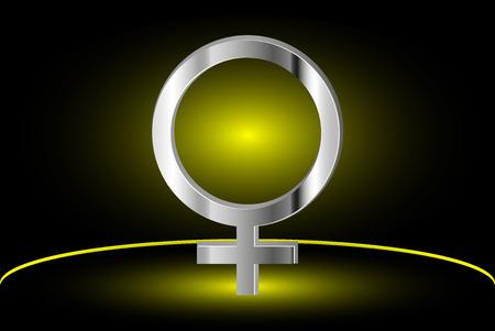 symbol women, Female symbol, woman, vector woman symbol,