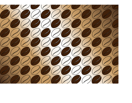 coffee beans background: coffee beans pattern , coffee beans background,coffee illustration, coffee beans Illustration
