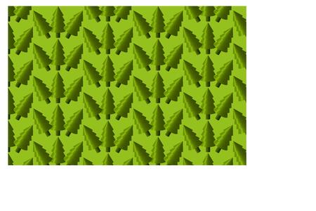conifère, modèle d'arbre à feuilles persistantes,