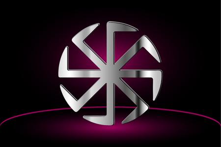 cult: symbol Kolovrat, Kolovrat - a symbol of the sun