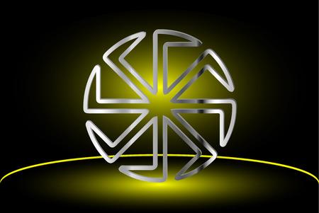 symbol Kolovrat, Kolovrat - a symbol of the sun