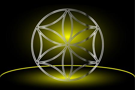 talisman: Flower of life , flower talisman ,