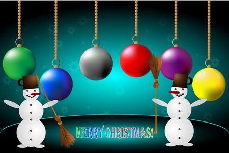 happy christmas: Snowmen and Christmas, Happy Christmas!
