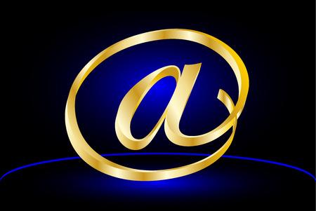 E-mail icon, Vector  e-mail internet icon button