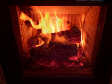 fuego, llama, fondo de llamas de fuego, Foto de archivo