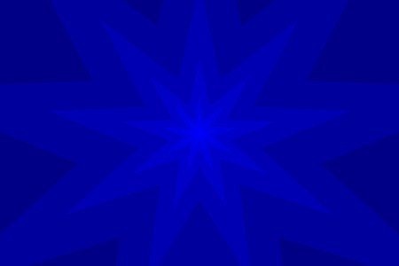 bahai: nine pointed star blue abstract vector background