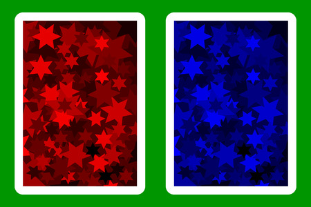 Playing Card Back Designs. Çizim