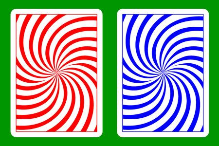 재생 카드 백 디자인