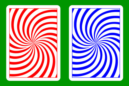 Playing Card Back Designs Çizim