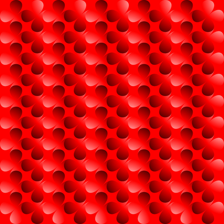 Clover red abstract background, Seamless pattern with clover leaves, Flower - background