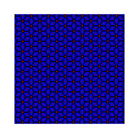 Slavic god Perun - blue pattern, symbols of Perun