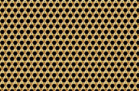 David star background - vector pattern,